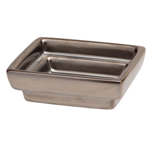 Cube Gunmetal Gallery DISH ONLY
