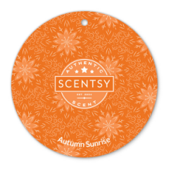 Autumn Sunrise Scentsy Scent Circle