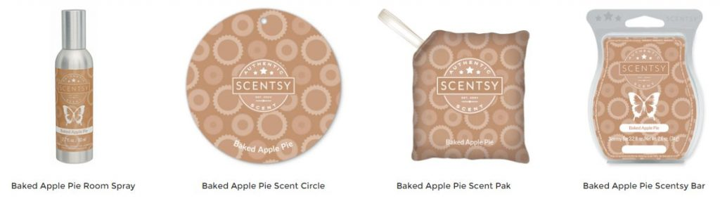 Baked Apple Pie Scentsy