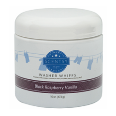 Black Raspberry Vanilla Scented Washer Whiffs