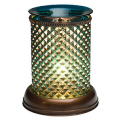 Blue Diamond Shade Scentsy Warmer