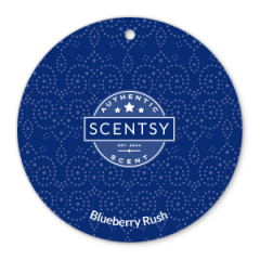 Blueberry Rush Scentsy Scent Circle