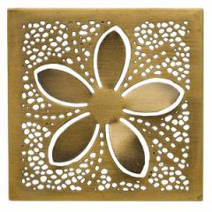 Brass Blossom Gallery Frame