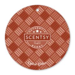 Cedar Cider Scentsy Scent Circle