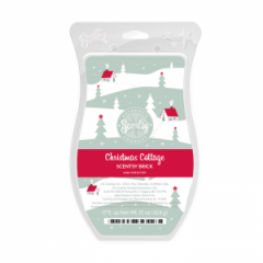 Christmas Cottage Scentsy Brick