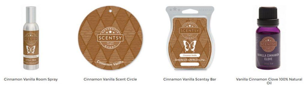 Cinnamon Vanilla Scentsy
