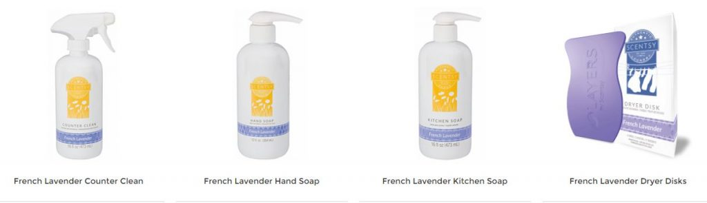 French Lavender Scentsy Products