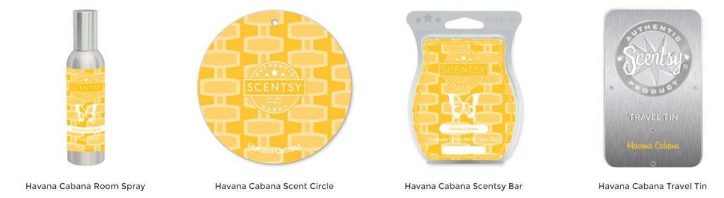 Havana Cabana Scentsy Products