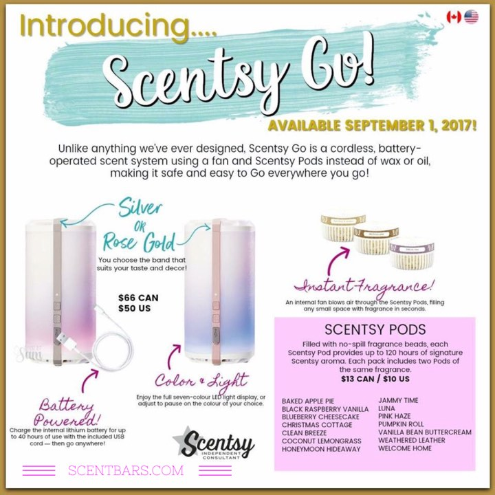 Scentsy Go Cordless System