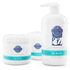 Jet, Set, Go! Scentsy Laundry Care Kit