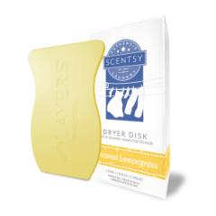Coconut Lemongrass Dryer Disks
