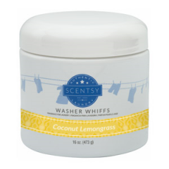 Coconut Lemongrass Scentsy Washer Whiffs