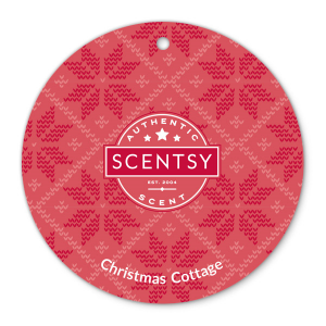 Christmas Cottage Scent Circle