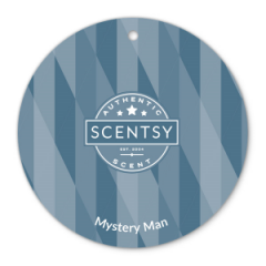 Mystery Man Scentsy Scent Circle