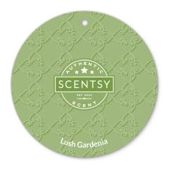 Lush Gardenia Scentsy Circle