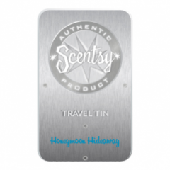 Honeymoon Hideaway Scentsy Travel Tin