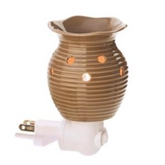 Groovy Brown Plug-In Warmer