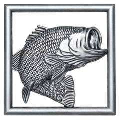Scentsy Bass Gallery Frame - Fishing