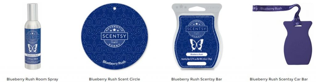 Blueberry Rush Scentsy