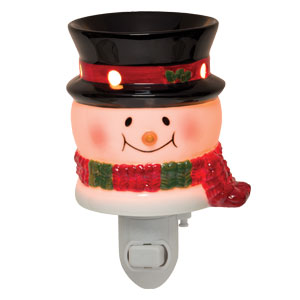 Bluster The Snowman Plug-In Scentsy Warmer