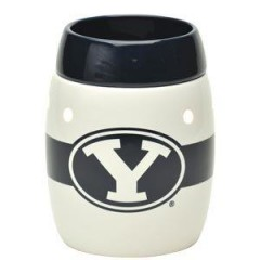 Brigham Young University White Scentsy Warmer