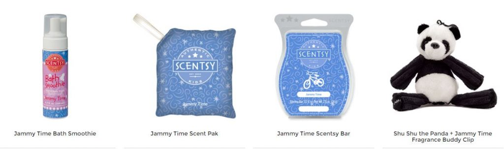 Jammy Time Scentsy Products
