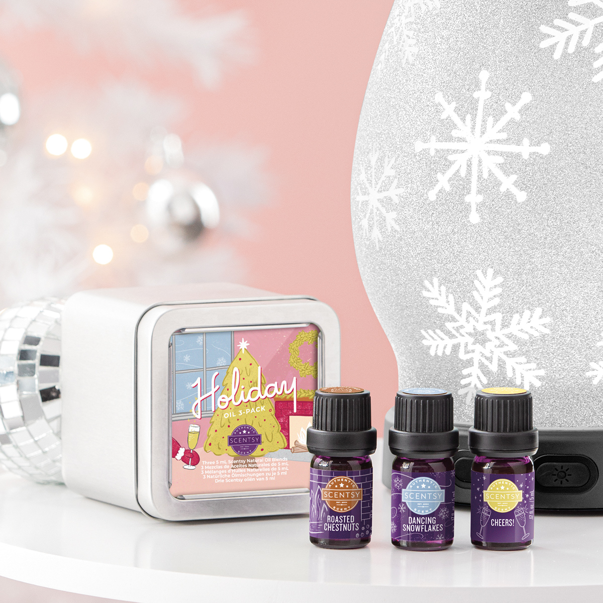 Scentsy Christmas Oils 3 Pack Scentsy Online Store New Authentic Fragrance Products