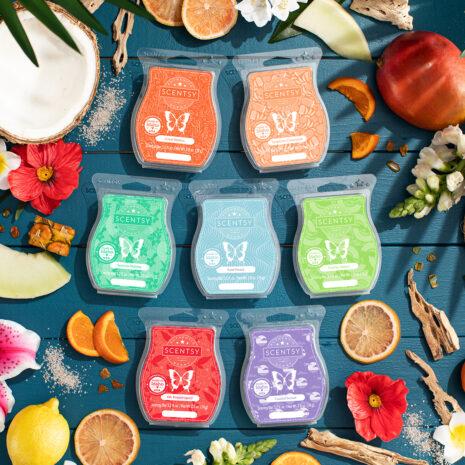 Scentsy Summer Fragrances 2021