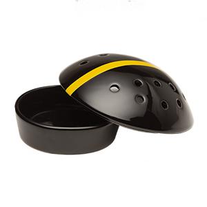 University Of Iowa Football Helmet - Dish Only