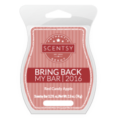 Red Candy Apple Scentsy Bar