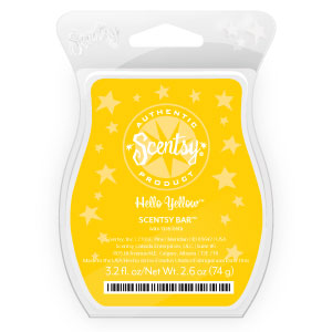 Hello Yellow Scentsy Bar