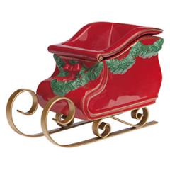 Santa's Sleigh Christmas Warmer