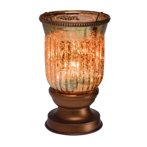 Scentsy Amber Fluted Warmer Shade