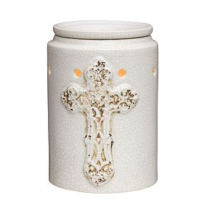 Scentsy Antique Cross Warmer