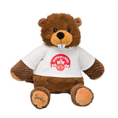 Birch the Beaver Canadian Scentsy Buddy