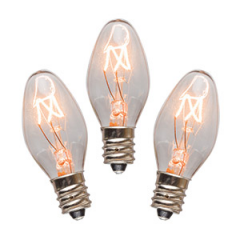 Scentsy 15 Watt Bulbs 3 Pack