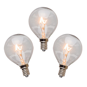 Scentsy 25 Watt Bulbs 3 Pack