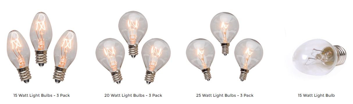 Scentsy Light Bulbs