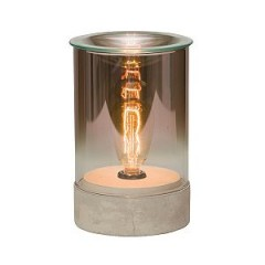 Parlor Scentsy Warmer with Edison Bulb
