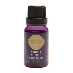 Scentsy Vanilla Nutmeg Cardamon 100% Natural Oil