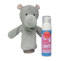 Scentsy Halla the Hippo & Jammy Time Scrubby Buddy