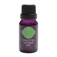 Scentsy Eucalyptus Lavender Mint 100% Natural Oil