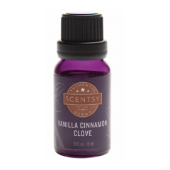 Scentsy Vanilla Cinnamon Clove 100% Natural Oil