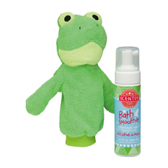 Scentsy Ribbert the Frog & Wild What-A-Melon Scrubby Buddy