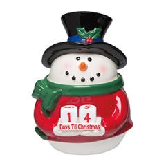 Scentsy Countdown Snowman Warmer