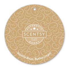 Scentsy Vanilla Bean Buttercream Scent Circle