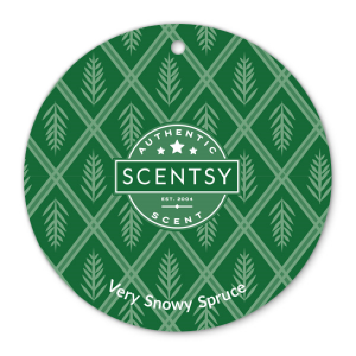 Very Snowy Spruce Scent Circle Scentsy Online Store New Authentic Fragrance Products