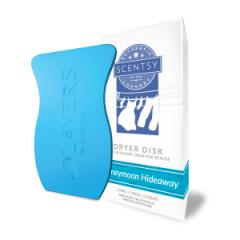 Scentsy Honeymoon Hideaway Laundry Dryer Disk