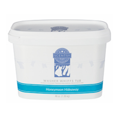 Scentsy Honeymoon Hideaway Washer Whiffs Tub