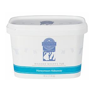 Scentsy Honeymoon Hideaway Washer Whiffs Tub